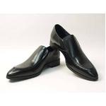 Falchi New York(ファルチ ニューヨーク) FN-010 BK 紳士靴 ビジネスシューズ ブラック  ブラック 24.5【送料無料】