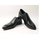 Falchi New York(ファルチ ニューヨーク) FN-010 BK 紳士靴 ビジネスシューズ ブラック ブラック 26
