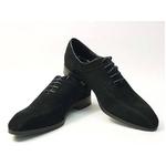 Falchi New York(ファルチ ニューヨーク) FN-011 SWBK 紳士靴 ビジネスシューズ ブラック スウェードブラック 26