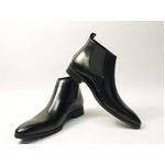 Falchi New York(ファルチ ニューヨーク) FN-012 BK 紳士靴 ビジネスシューズ ブラック  ブラック 24.5