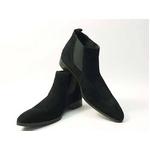 Falchi New York(ファルチ ニューヨーク) FN-012 SWBK 紳士靴 ビジネスシューズ ブラック スウェードブラック 26.5