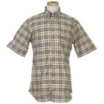 Burberry(バーバリー) N SUSSEX M/C CAMEL メンズシャツ 4【送料無料】