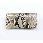 PYTHON革 wallet01 パイソン(ニシキヘビ革) 財布 札入れ【MADE IN JAPAN】【送料無料】