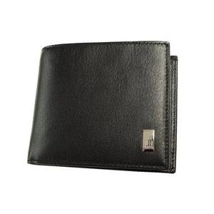 dunhill(ダンヒル) QD3070 2つ折り財布 ブラック - 拡大画像