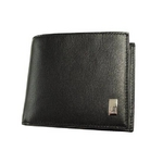 dunhill(ダンヒル) QD3070 2つ折り財布 ブラック【送料無料】
