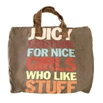 JUICY COUTURE(ジューシクチュール) YHRU1223-231 キャンバス トートバッグ【送料無料】
