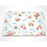 CATH KIDSTON(キャスキッドソン) Zip purse,bird print white ポーチ