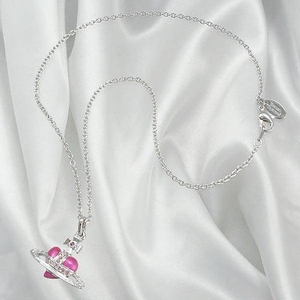 Vivienne Westwood(ヴィヴィアンウエストウッド) ペンダント ネックレス 020719021001 DIAMANTE HEART 2009新作