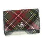 Vivienne Westwood(ヴィヴィアンウエストウッド) 財布 0746 WINTER TARTAN EXH 2009新作【送料無料】