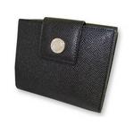 Bvlgari(ブルガリ) Wホック2つ折り財布 ブラック 20201 2009新作【送料無料】