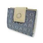 Bvlgari(ブルガリ) ロゴマニア 2つ折り財布 ライトブルー 22572 2009新作【送料無料】