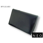 Bvlgari(ブルガリ) 名刺入れ・カードケース ブラック 20356 2009新作【送料無料】