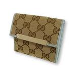 Gucci(グッチ) Wホック 2つ折り財布 112716 F40IG 9797 2009新作【送料無料】