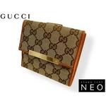 Gucci(グッチ) Wホック 2つ折り財布 112664-F40IG-9711 2009新作【送料無料】
