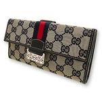 Gucci(グッチ) Wホック 長財布 146206-F4FOS-4061 2009新作【送料無料】