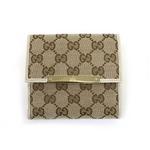Gucci(グッチ) Wホック 2つ折り財布 112664 F40IG 9773 2009新作【送料無料】