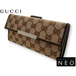 Gucci(グッチ) Wホック 2つ折り長財布 112715-F40IR-9643 2009新作【送料無料】