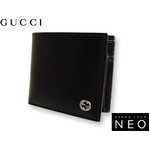 Gucci(グッチ) ダブル GG ロゴ 2つ折り財布 115217-A490N-1000 2009新作【送料無料】