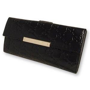 Gucci(グッチ) Wホック 2つ折り長財布 [ SSIMA ] 112715-A0V1G-1000 2009新作