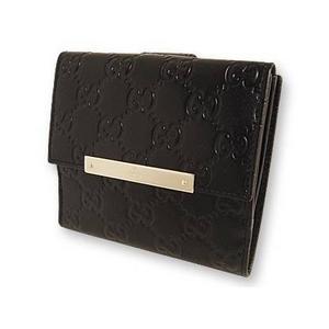 Gucci(グッチ) Wホック 2つ折り財布 [ SSIMA ] 112664-A0V1G-1000 2009新作