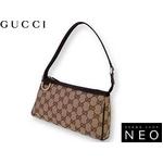 Gucci(グッチ) GGキャンバス アクセサリー ポーチ 145750 F4DYG 9643 2009新作【送料無料】