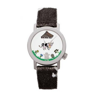 AKTEO(アクテオ) 腕時計 ウシ(2) NATURE(自然) 「動物と花」 2009新作 画像1