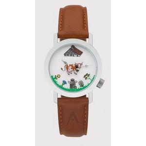 AKTEO (アクテオ) 腕時計 ウシ (3) NATURE (自然) 「動物と花」 2009新作の写真1