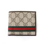 Gucci(グッチ) ダブル GGロゴ 2つ折りカード財布 138042-FCI2R-9791 2009新作【送料無料】
