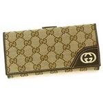 Gucci(グッチ) Wホック 長財布 181593 FFPAG 9643 2009新作【送料無料】
