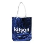 KITSON(キットソン) スパンコール トートバッグ ネイビー SEQUIN-TOTE2 3297 2009新作