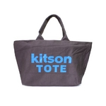 KITSON(キットソン) ショッピングトートバッグ 3369 キャンバス ダークグレー 2009新作