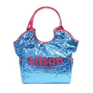 KITSON(キットソン) スパンコール トートバッグ SEQUIN TOTE 3155 アクア 2009新作 - 拡大画像