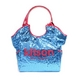 KITSON(キットソン) スパンコール トートバッグ SEQUIN TOTE 3155 アクア 2009新作 - 縮小画像1