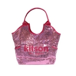 KITSON(キットソン) スパンコール トートバッグ SEQUIN TOTE 3156 アクア ピンク 2009新作【送料無料】