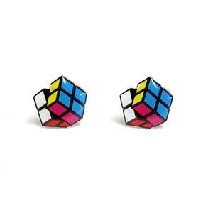 Cuffs(カフスボタン) カフリンクス ルービックキューブ Rubiks Cube Cufflinks 2009新作 - 拡大画像