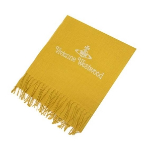 Vivienne Westwood(ヴィヴィアンウエストウッド) スカーフ S01 405 0011 YELLOW 2009新作