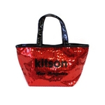 KITSON(キットソン) トートバッグ 0 SEQUIN MINI TOTE ミニスパンコール 2009新作 レッド(3555)