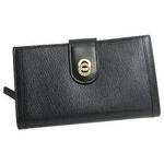 Bvlgari(ブルガリ) 25265DOPPIOTONDO ドッピオトンド二つ折り中財布ブラック×ゴールド【送料無料】