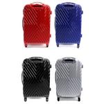 Ambassador(アンバサダー) TSAロック方式採用 ポリカーボネイト製キャリーバッグ 20インチ スーツケース レッド