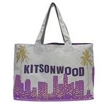 KITSON(キットソン) KHB0139 エコ ショッピングトートバッグ グレー