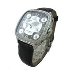 MODEX(モデックス) 5continents G-5BLK-001-BK Full diamond スイス製 ダイヤモンド メンズ腕時計【送料無料】