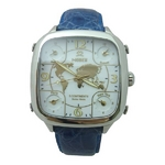MODEX(モデックス) 5continents G-5GLD-003-BL S/S case スイス製 メンズ腕時計