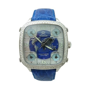 MODEX(モデックス) 5continents Top ringG-5LAP-002-BL スイス製 ダイヤモンド メンズ腕時計