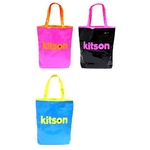 KITSON(キットソン) Neon tote エナメル トートバッグ ピンク(3862)
