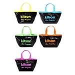 KITSON(キットソン) sequin mini neon ミニスパンコール トートバッグ ネオンブルー(3579)