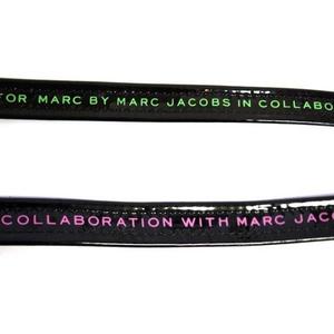 MARC BY MARC JACOBS(マークバイマークジェイコブス) MMJ Two Tone Belt ベルト Black/Green (97216)