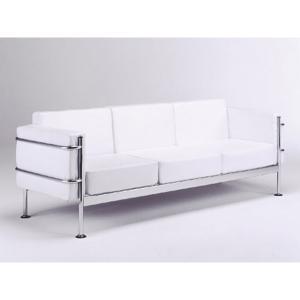 GRANDComfortソファ・3人掛 ホワイト