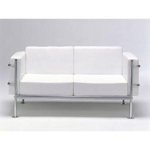 GRANDComfortソファ・2人掛 ホワイト