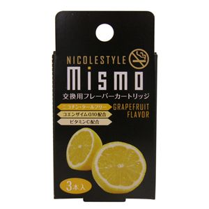 mismo(ミスモ)交換フレーバーカートリッジ【3箱セット】 グレープフルーツ (日本製)