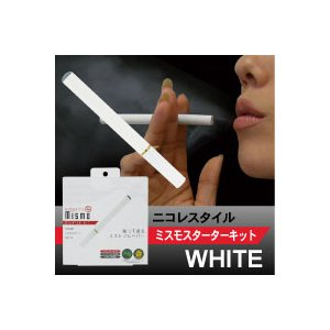 ニコレスタイル mismo(ミスモ) スターターキット ホワイト (日本製カートリッジ付) - 拡大画像